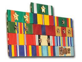Build Rack Army Unit Awards by Ribbon Rack Builder Medals Of America