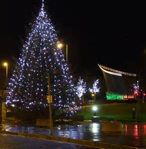 port glasgow christmas lights 169 thomas nugent geograph