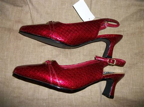 ruby slippers auction price free bnwt ruby slippers 7 1 2 by renica shoes