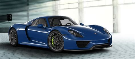 Porsche 918 Configurator by Make Your Porsche 918 Spyder With