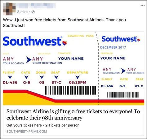 southwest  scam