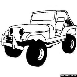 jeep coloring pages car coloring pages cool cars 24 free printable coloring pages