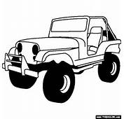 Jeep Coloring Pages  CAR Cool Cars 24