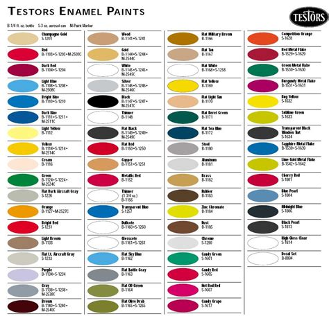 acrylic paint cross reference chart pictures to pin on pinsdaddy
