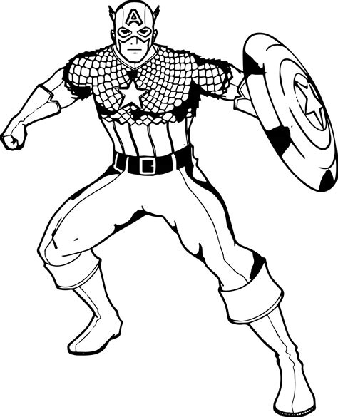 Free Coloring Pages Of Shield Captain America Captain America Shield Coloring Page