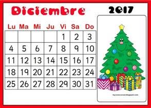 Calendario Diciembre De 2017 Recursos De Educaci 211 N Infantil Calendario Mes De Diciembre