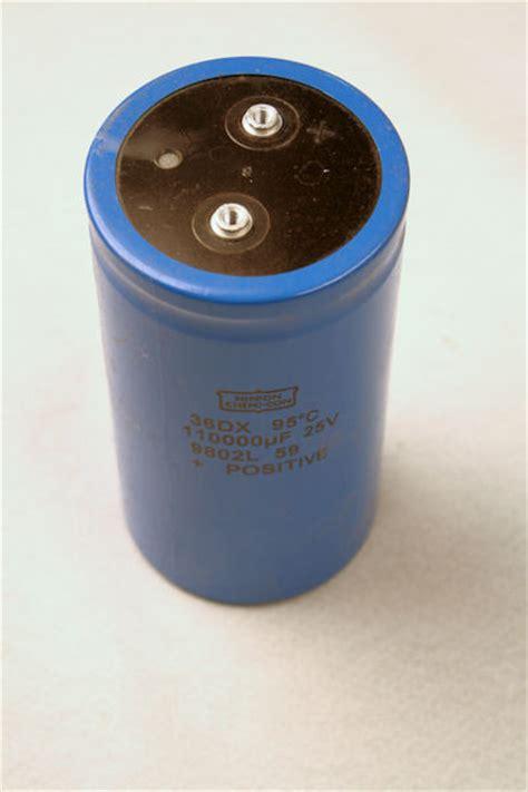 capacitors nippon chemi con used nippon chemi con 36dx 110 000 uf 25v capacitor