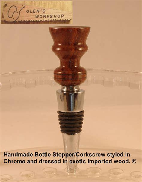 Handmade Wine Stoppers - handmade wine stopper