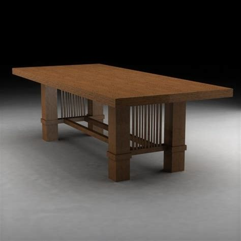 wright woodworking 3ds max frank lloyd wright wood
