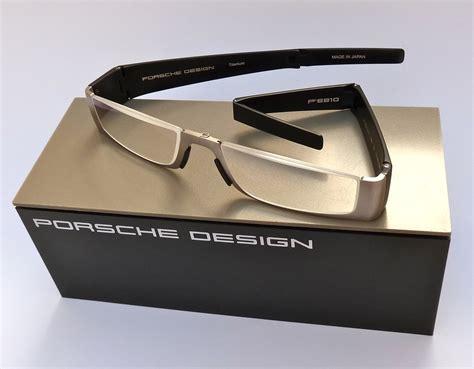 Porsche Lesebrille by Porsche Design 174 Lesebrille P8810 Titan Black