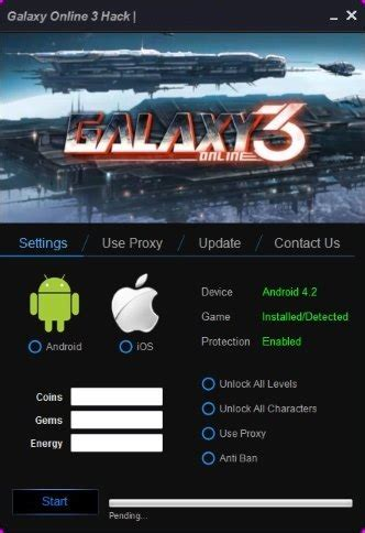game mod tool for android galaxy online 3 cheats download galaxy online 3 cheats