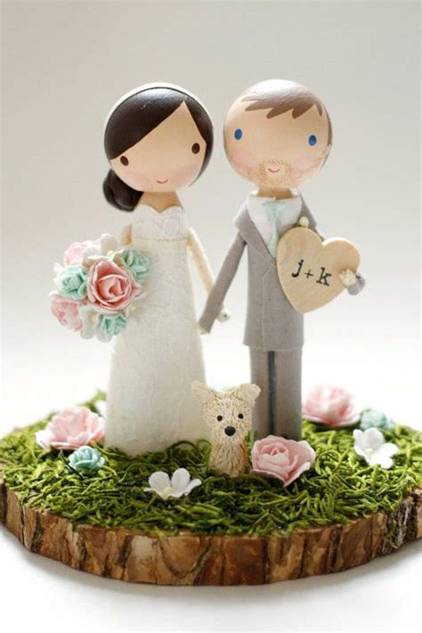 Wedding Cake Figurines by The Complete Guide To Wedding Cake Toppers Unique Ideas