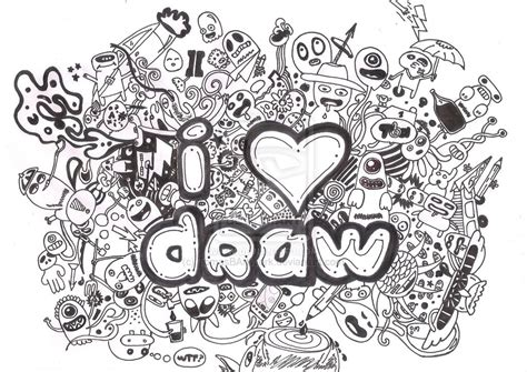 The Gallery For Gt Cool Doodles To Draw
