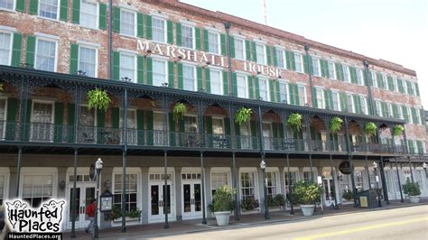 The Marshall House by The Marshall House Haunted Places Ga 31401