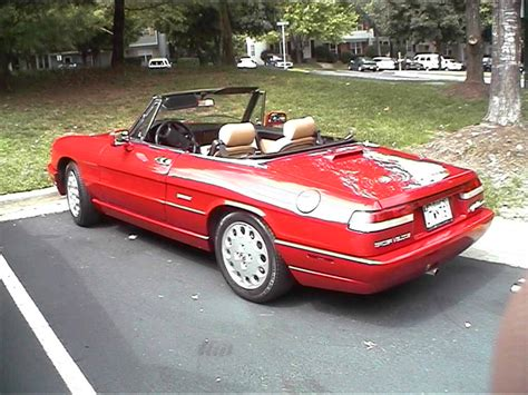 Alfa Romeo Spider 1991 by 1991 Alfa Romeo Spider 115 Pictures Information And