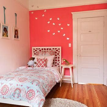 Salmon Colored Curtains Designs Pink Wall Paint Design Ideas