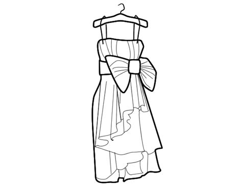 the dress book coloring book collette s dresses volume 4 books evening dress coloring page coloringcrew