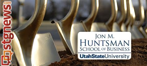 Jon M Huntsman School Of Business Prerequisites For Mba by Huntsman School Of Business Breaks Ground For New 42