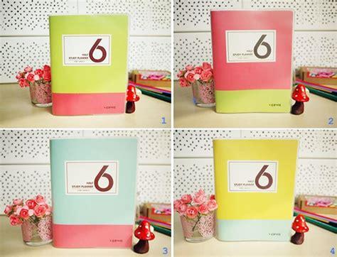 Buku Weekly Planner Untuk 6 Bulan Dengan Cover Watercolor buku diary notebook peekmybook organizer design unik dan keren keren