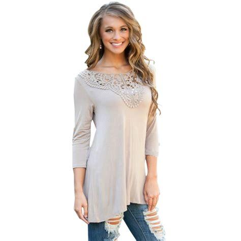 21811 Blouse Graywhite hollow top causal blouse autumn shirt crochet blouse white grey fashion
