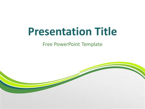 Free Green Powerpoint Templates Presentationgo Com Green Powerpoint Templates Free