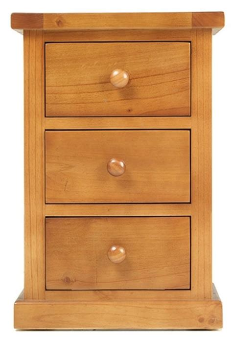 chunky pine bedroom furniture buy chunky pine small 3 drawer bedside cabinet online cfs uk