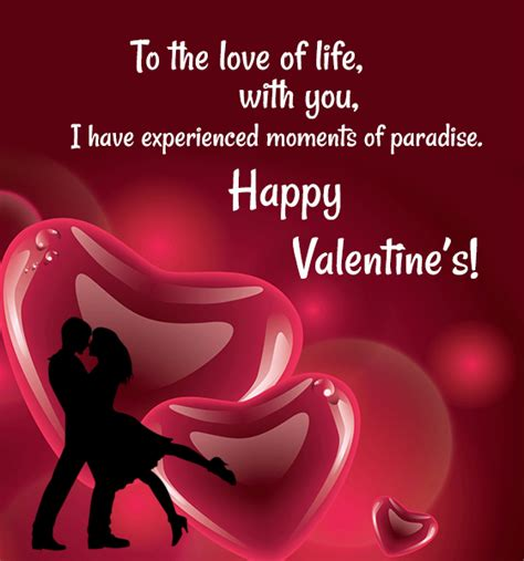 valentin day msg day card messages for sle messages