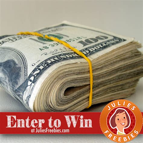 Sweepstakes That Are Easy To Win - win 5 000 cash julie s freebies