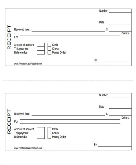 Debt Collection Payment Receipt Template by 26 Free Payment Receipts