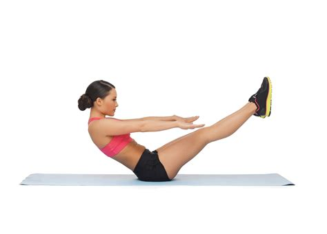 boat pose crunches awesome abs and no crunches required slendher
