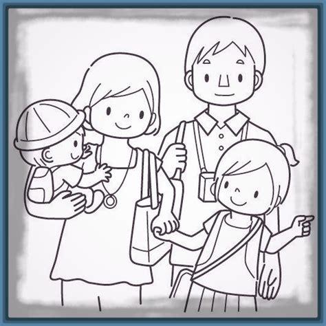 imagenes de la familia para imprimir dibujos de la familia dialogando para colorear archivos