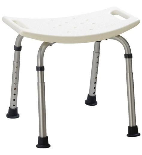 bath shower stool adjustable shower stool in tub caddies and accessories