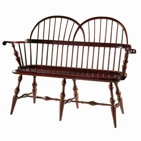 windsor benches d r dimes twin bow loveseat windsor chairs benches