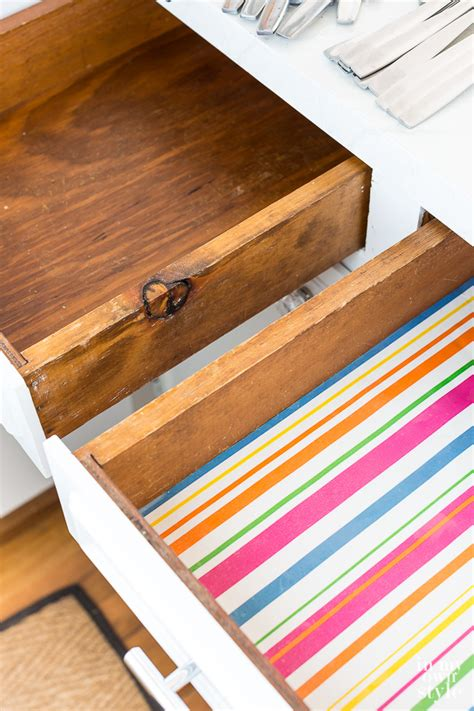 paper to line cabinets drawer liners fall nesting in my own style