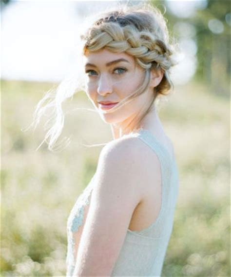 halo braid on forehed 10 braided styles for summer