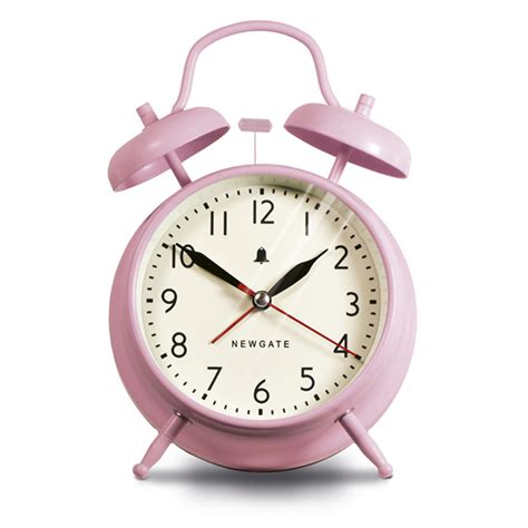 buy newgate clocks the new covent garden alarm clock dreamy pink amara