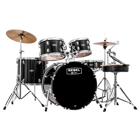 Drum Set mapex rebel 5 drum set 22 quot bass 10 12 16 quot toms 14 quot snare with hardware and cymbals