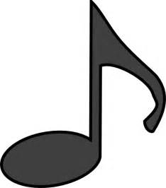 Musical Notes Template by Note Template Clipart Best