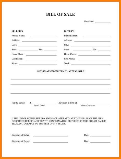 6 firearm bill of sale word doc appeal leter
