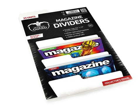 ultimate guard magazine dividers case 10 packs 174