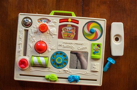 Baby Crib Activity Center Vintage 1973 Fisher Price Crib Activity Center By Dappr On Etsy