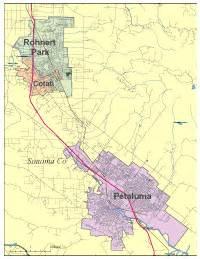 where is petaluma california on the map petaluma digital vector maps editable