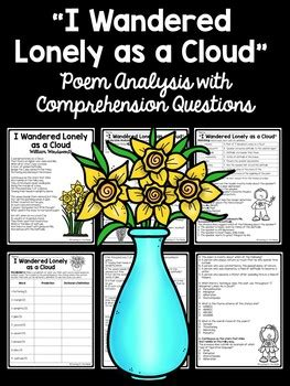 I Wandered Lonely As A Cloud Worksheet