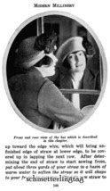 Modern Millinery Hat Book Make Flapper Era Hats 1922