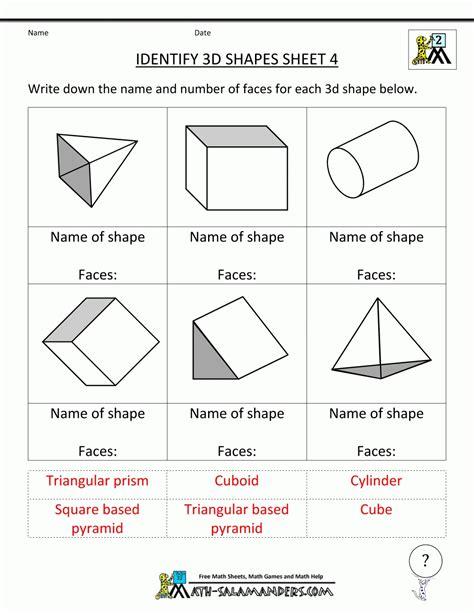 geometric patterns worksheets 5th grade geometric geometry shapes worksheets world of exle