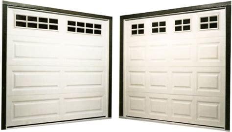 Exles Of Single Garage Doors Shown Left Long Panel Single Garage Door Panel