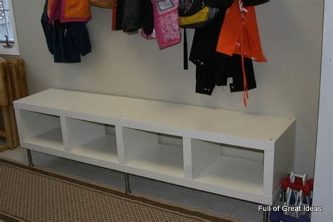 ikea bench hack full of great ideas ikea hack easily convert expedit