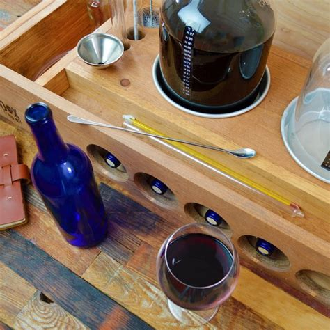 Handcrafted In Small Batches - handcrafted small batch wine kit 187 petagadget