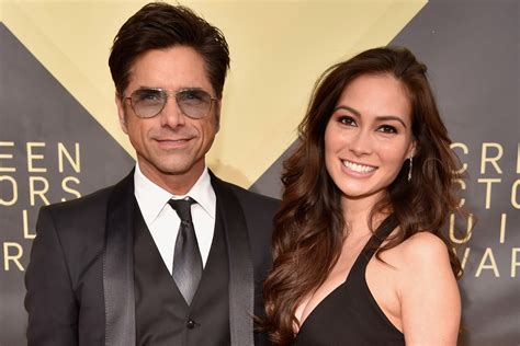 john stamos wives john stamos and wife caitlin mchugh welcome a son