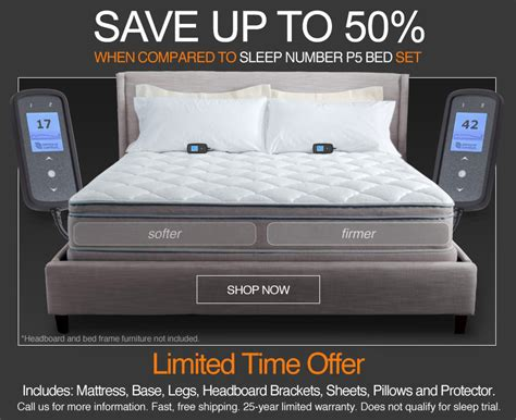 save   sleep number bed  personal comfort bed sale